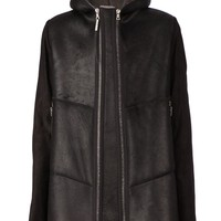 Isaac Sellam Experience hooded shearling  jacket