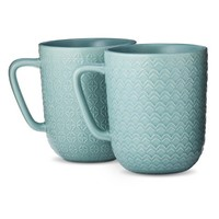 Threshold™ Large Coffee Mug Set of 4 - Blue