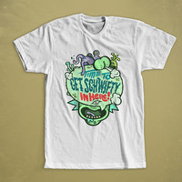 Schwifty Rick And Morty Funny T-Shirt