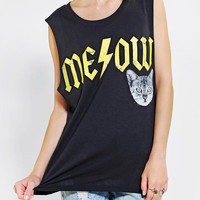 Signorelli Karma Meow Muscle Tee - Urban Outfitters