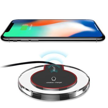 Qi Wireless Charger Receiver iPhone 7 6 5 & Charger Pad for All Models