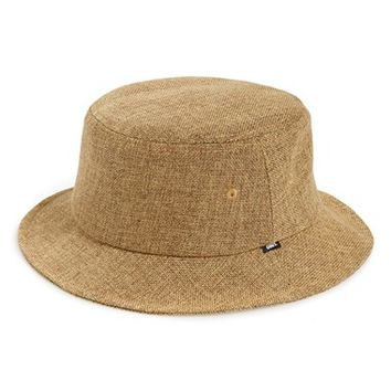 Men's Obey 'Bolinas' Straw Bucket Hat - Beige