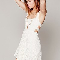 Free People Womens Turn Back Time Dress