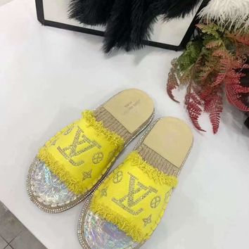 Louis Vuitton LV Flip Flop Sandal Women Candy-colored Slipper