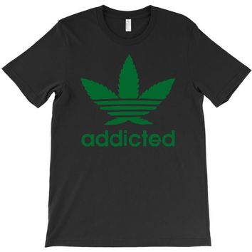 addicted ~ mens funny T-Shirt