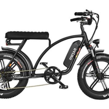 Addmotor MOTAN Electric Bike Cruiser Bike 750W 11.6 AH 20 Inch Fat Tire E-Bike M-60 R7