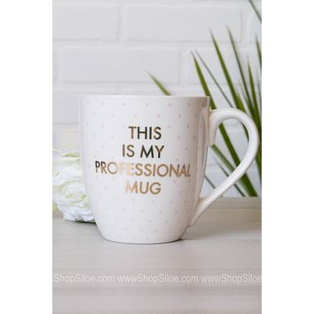 Ceramic Mug My Professional