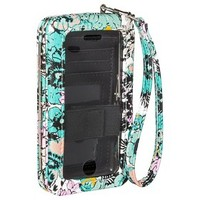 Merona® Floral Phone Case Wallet with Removable Wristlet Strap - Multicolor