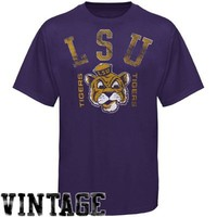 LSU Tigers Premium Vault T-Shirt - Purple