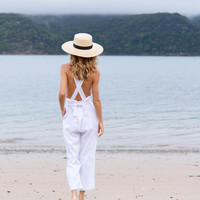 ISOBEL JUMPSUIT - WHITE