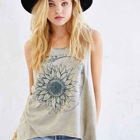 Project Social T Mineralized Sunflower Tee- Green