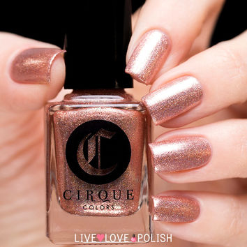 Cirque Himalayan Pink (Speckled & Sparkled 2016 Collection)