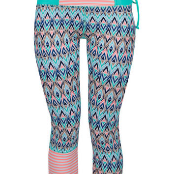 Body Glove Tarahiki Surf Capri Leggings