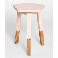 Plum & Bow Plum and Bow Pentagon Dipped Side Table from Urban Outfitters | BHG.com Shop