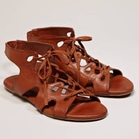 $34.50 AEO Cutout Lace-Up Sandal