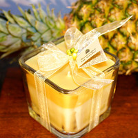 Jamaica Me Crazy Natural Soy Candle. Soy blend with Tropical Jamaica Me Crazy Fragrance