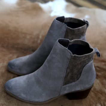Raya Pull On Bootie, Taupe