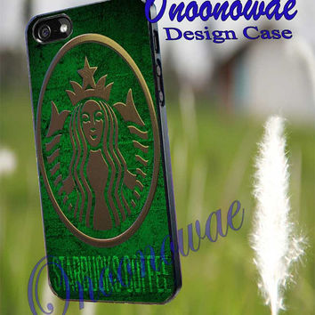 Starbucks Logo for iPhone 4/4S/5/5S/5C Case, Samsung Galaxy S3/S4/S5 Case, iPod Touch 4/5 Case
