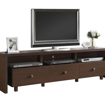"""Techni Mobili 70"""" TV Stand with 3 Drawer Availiable in Different Color"""