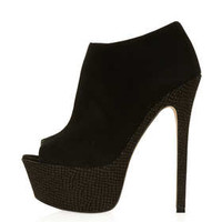 SANSA Peep Toe Shoe Boots - View All  - Shoes