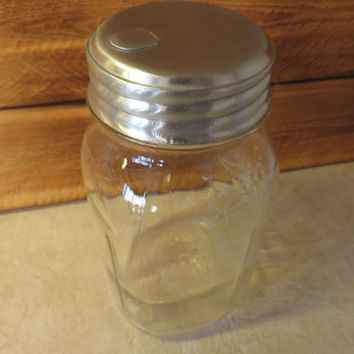 Mason Jar Sugar Dispenser Pourer Lid, Salt, Spices, Aluminum Food Safe