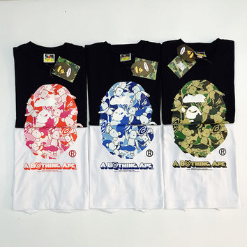 'BAPE' Cotton Short Sleeve T-shirts [10425655175]