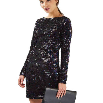 Gabby Iridescent Bodycon