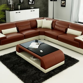Antique indoor home furniture Corner Sectional sofa