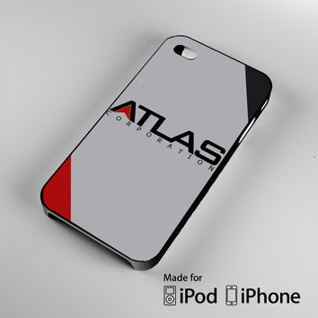 Atlas Corporation Logo Call of Duty Advanced Warfare A0536 iPhone 4S 5S 5C 6 6Plus, iPod 4 5, LG G2 G3, Sony Z2 Case