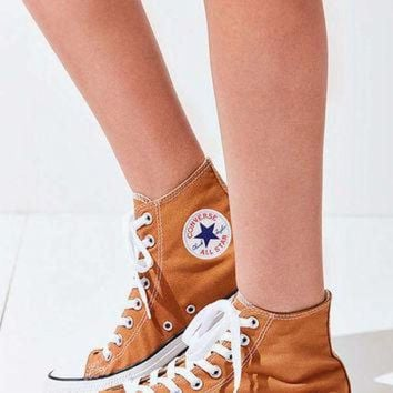 DCCKHD9 Converse Chuck Taylor All Star Orange High Top Sneaker | Urban Outfitters