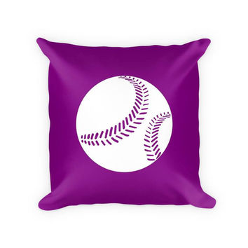 Softball I Children's Throw Pillow