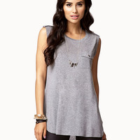 Flap Pocket Muscle Tee