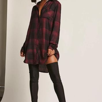 Dex USA Plaid Tunic