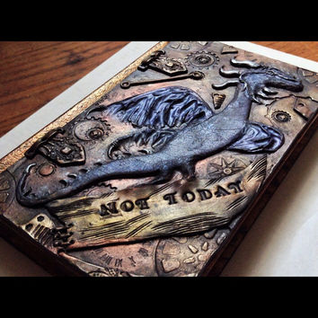 Game Of Thrones inspired Dragon artwork, one of a kind gifts, sketchbook