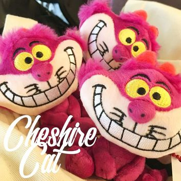 Original Alice In Wonderland Cheshire Cat Cute Mini Stuff Plush Toy Doll Pendant Girl Birthday Gift 10cm