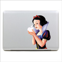 Beautiful color snow white mac sticker mac decal mac book mac book pro mac book air Ipad