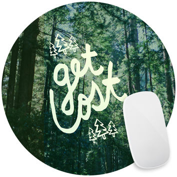 Get Lost Forest Mouse Pad Decal