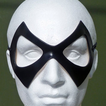 Ms MARVEL Mask in Leather. Designed & Hand Crafted in Wales.