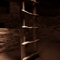 Kiva Ladder-11x14 - Fine Art Photograph Part of Mesa Verder Series