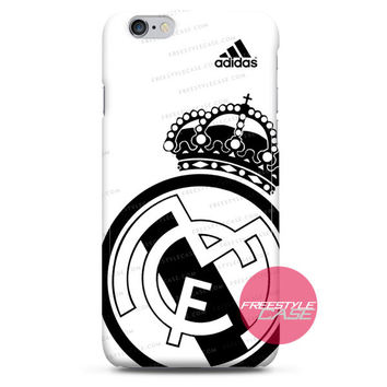 Real Madrid Football FC Jersey Adidas iPhone Case 3, 4, 5, 6, 6s, 6 Plus Case Cover