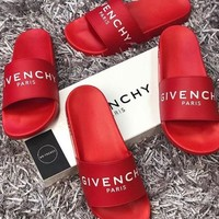 GIVENCHY : Comfortable Loose Slippers Shoes