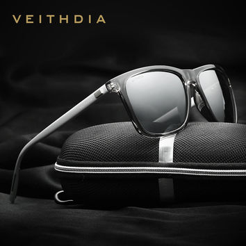 Unisex Retro Aluminum+TR90 Sunglasses Polarized Lens Vintage Eyewear Accessories Sun Glasses