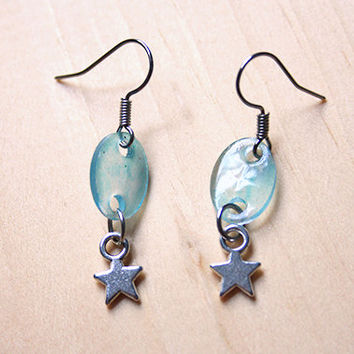 Blue Candy Stars | earrings