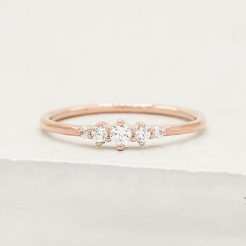 Tiara Ring - Rose Gold