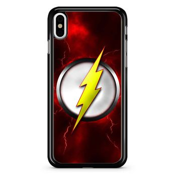 Flash Logo iPhone X Case