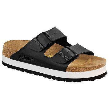 Birkenstock Arizona Birko Flor Black 364063 Sandals