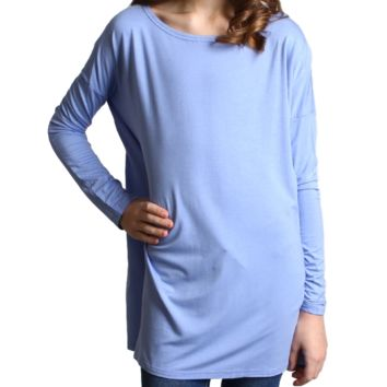 Serenity Piko Kids Long Sleeve Top
