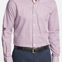 Men's Big & Tall Peter Millar 'Madrona Gingham' Regular Fit Sport Shirt,