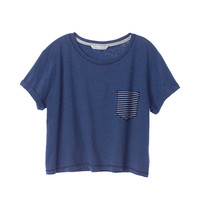 Boxy Pocket Tee - Anytime Tees - Victoria's Secret