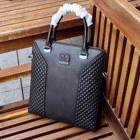 GUCCI MEN'S NEW HOT STYLE LEATHER BRIEFCASE BAG CROSS BODY BAG